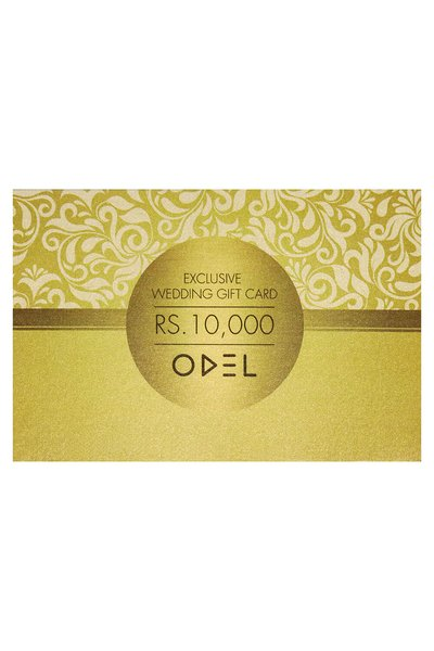 Odel Exclusive Wedding Gift Card Rs. 10000
