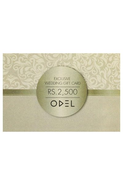 Odel Exclusive Wedding Gift Card Rs. 2500