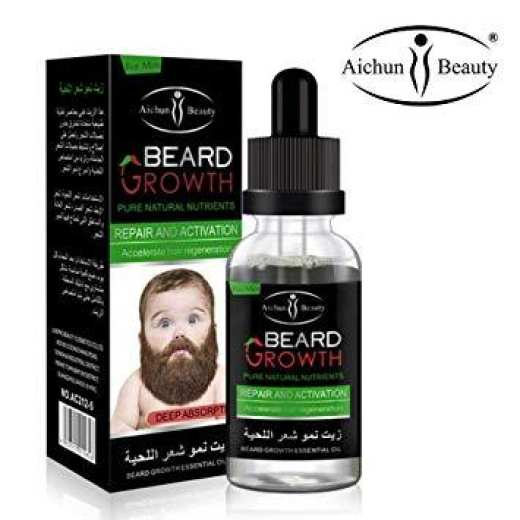 Aichun Beauty Liquid Beard Growth Essential Oil 30ml