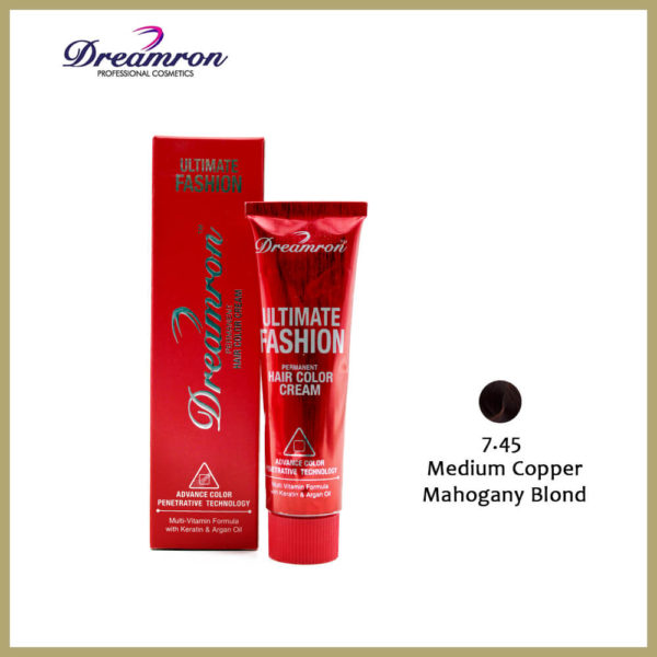 Dreamron Ultimate Fashion Hair Color Cream (Medium Copper)