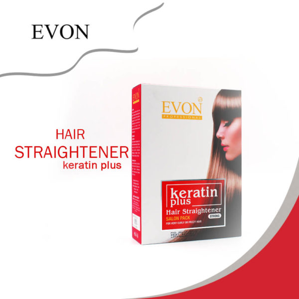 Evon Hair Straightener Keratin Plus