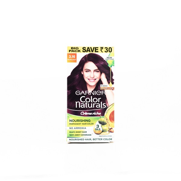 Garnier Natural Black 1 Hair Color 100mL