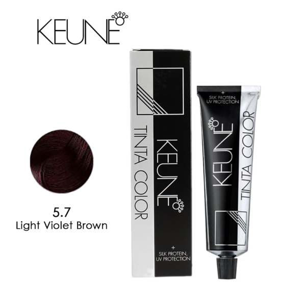 Keune Tinta Color 5.7 Light Violet Brown 60ml