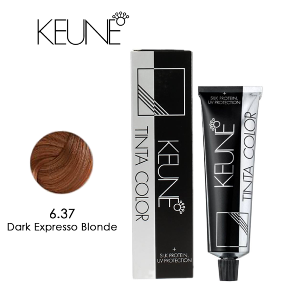 Keune Tinta Color 6.37 Dark Expresso Blonde 60ml