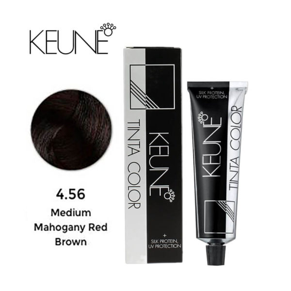 Keune Tinta Color No 4.56 Medium Mahogany Red Brown 60ml
