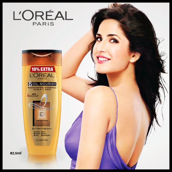 LOral Paris 6-Oil Nourish Shampoo