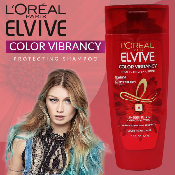 LOral Paris Elvive Color Vibrancy Protecting Shampoo 375ML