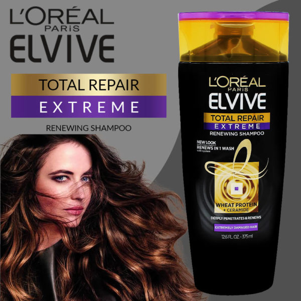 LOral Paris Elvive Total Repair Extreme Shampoo 375ML