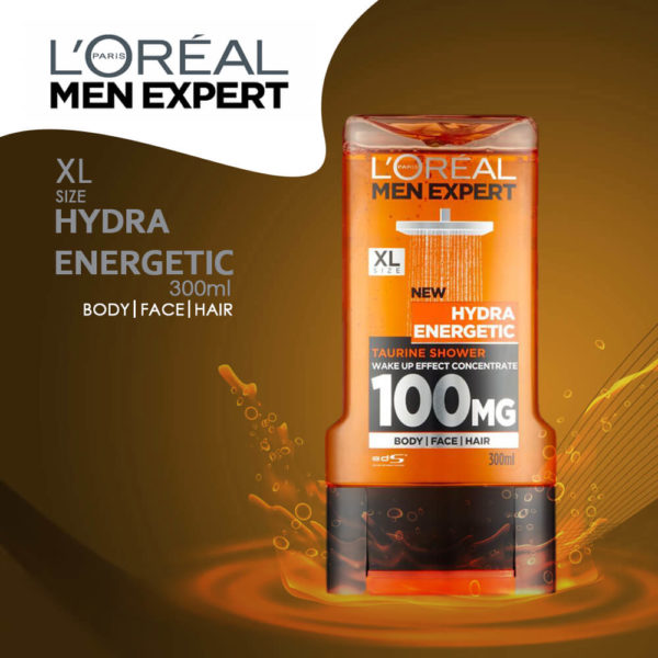 LOral Paris Expert Hydra Energetic Showe Gel 300ML