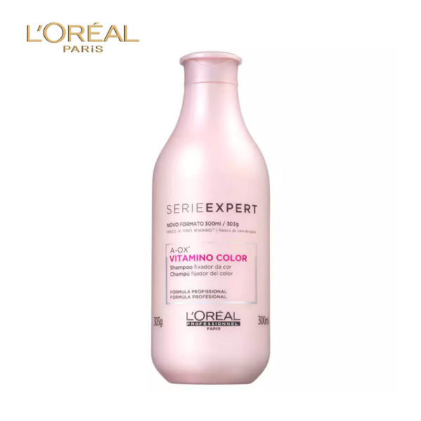 LOral Paris Serie Expert Vitamino Color Shampoo 300ML