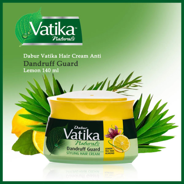 Vatika Naturals Dabur Vatika Hair Cream Anti-Dandruff Guard Lemon 140ml