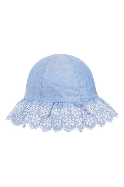 Mothercare Chambray Denim Hat