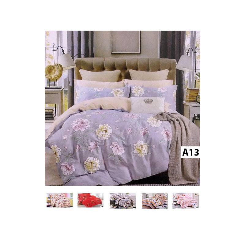 4PC Bed Sheets With Quilt Cover
