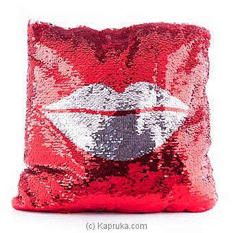Huggables Kiss Me Glittery Pillow