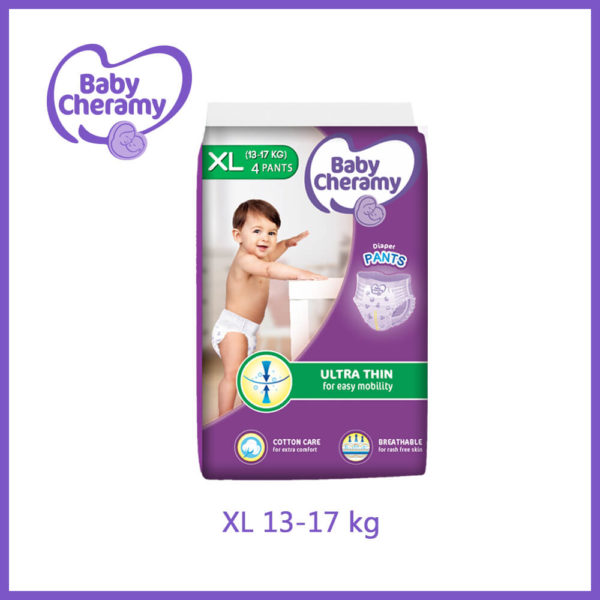 Baby Cheramy Ultra Thin XL 4pcs