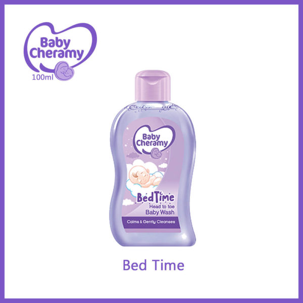 Baby Cheramy Bed Time Body Wash 100ml