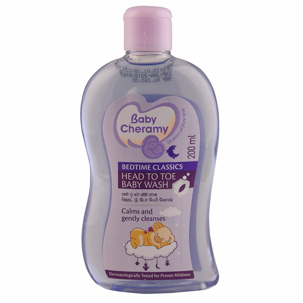 Baby Cheramy Bedtime Classic Head To Toe Baby Wash 200mL