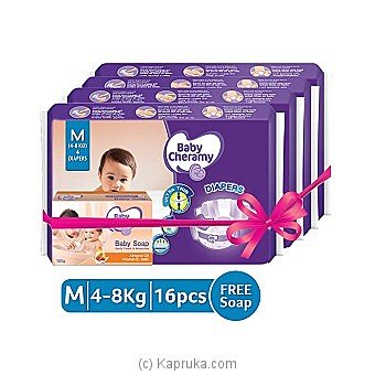 Baby Cheramy Diapers M Pack 16Pcs