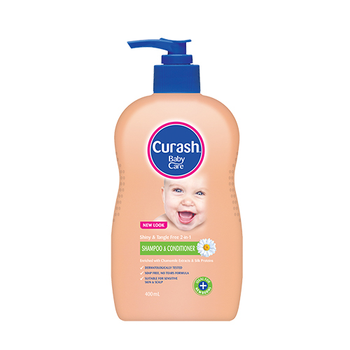 Curash 2IN1 Shampoo & Condition 400ml