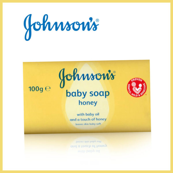 Johnson & Johnson Baby Oil Honey Baby Soap 100G