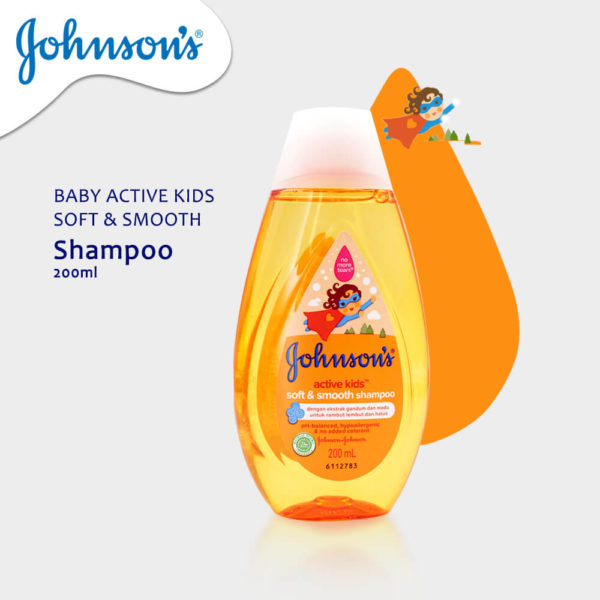 Johnson & Johnson Baby Shampoo Active Kids 200ML