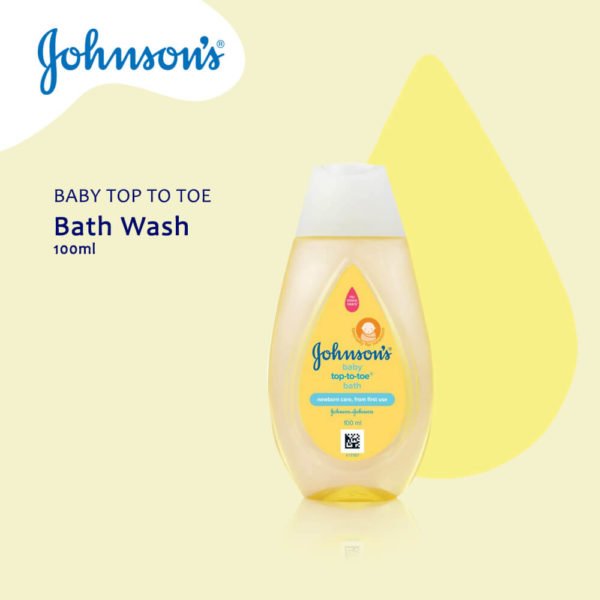Johnson & Johnson Baby Top To Toe Bath 100ML