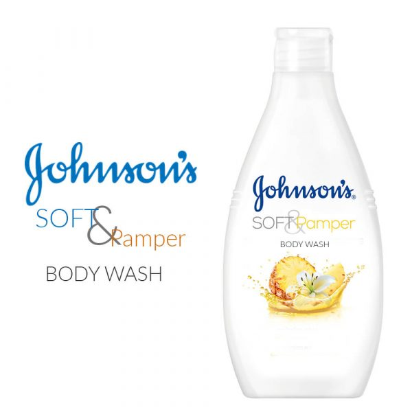 Johnson & Johnson Soft and Pamper Body Wash 400ML