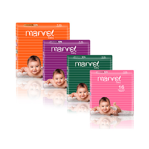 Marvel Baby Diapers 16 Packs