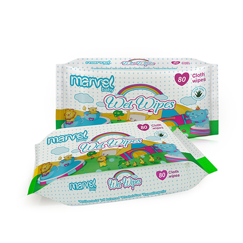 Marvel Baby Wet Wipes 80