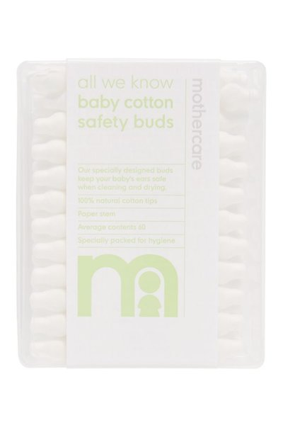 Mothercare Safety Cotton Buds 60 Pack