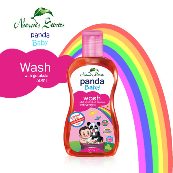 Nature's Secrets Panda Baby Body Wash 50ML