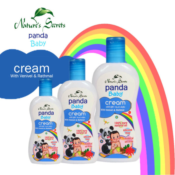 Nature's Secrets Panda Baby Cream With Venivel and Rathmal 100ML