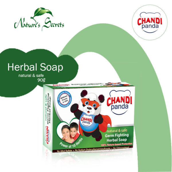 Nature's Secrets Panda Baby Herbal Baby Soap 90G