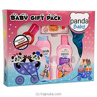 Nature's Secrets Panda Baby Gift Pack