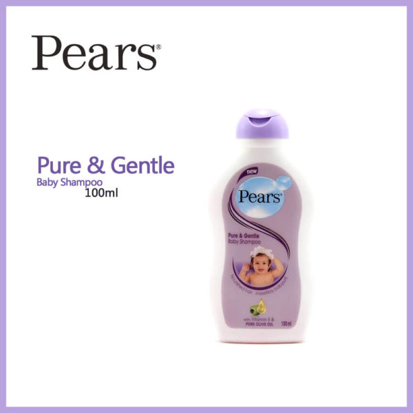 Pears Pure and Gentle Baby Shampoo 100ML