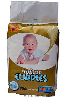 Velona Cuddles Diapers NB 4pcs