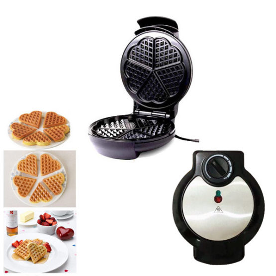 Sokany Heart Shaped Electric Waffle Maker