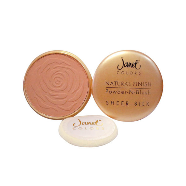 Janet Pancake Make Up Bronze Glow