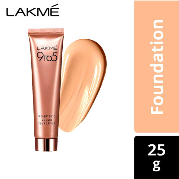 Lakme Foundation 9 To 5 Nude Brown 25g