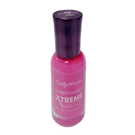 Sally Hansen Hard As Nails XTreme Wear, Fuchsia Power Nail Polish