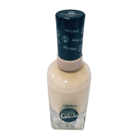 Sally Hansen Miracle Gel Nail Polish Step-1 219 Birthday Suit