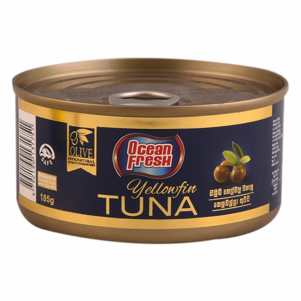 Ocean Fresh Yellowfin Tuna 185g