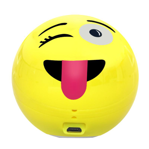 Promate Groovoji Mini Wireless Emoji Speaker With Handsfree