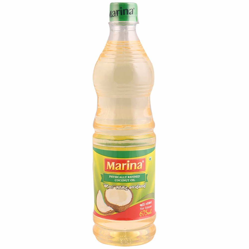 Marina Physically Refined Coconut Oil 675mL