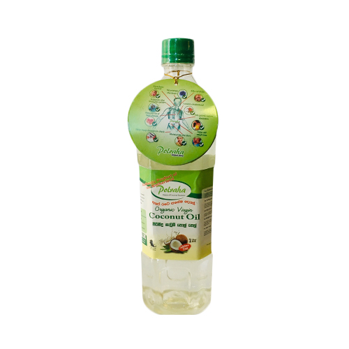 Polraha Organic Virgin Coconut Oil 1LITRE