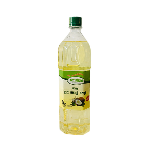 Polraha Pure White Coconut Oil 1L