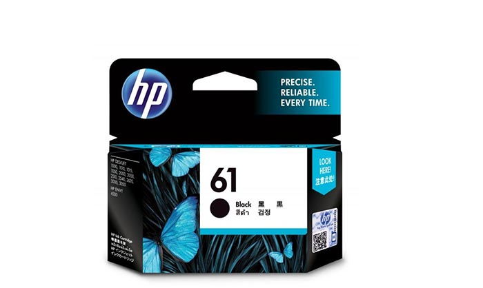 HP 61 Black Ink (CH561WN)