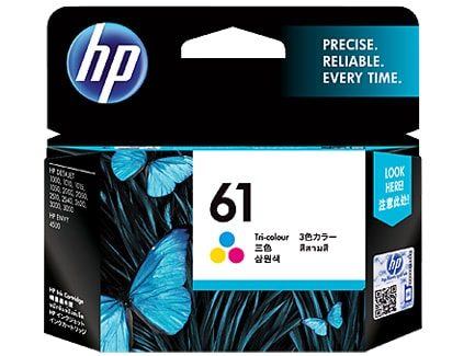 HP 61 Tri Color Original Ink (CH562WA)