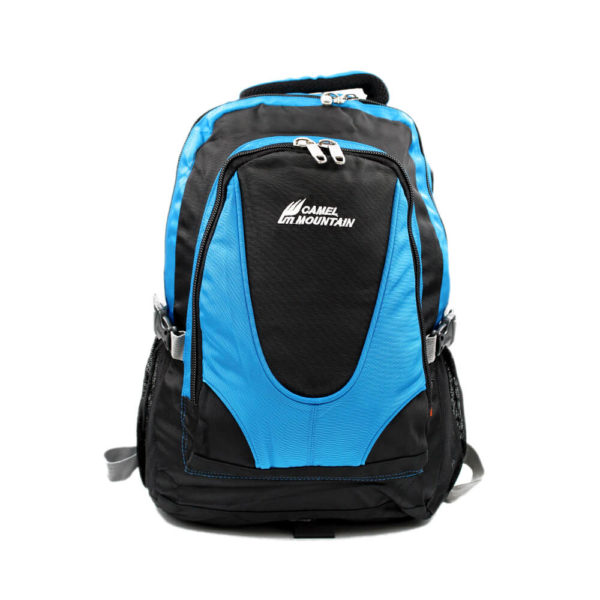 Camel Mountain Blue Backpack 50L
