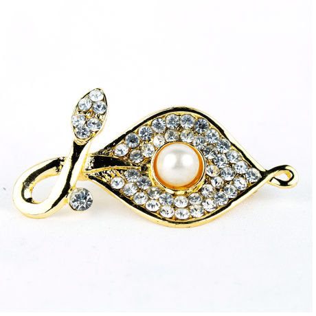 Saree Pins With White Stones ( RJSP13)